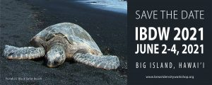 Save the Date – IBDW 2021